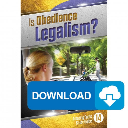 14 Is Obedience Legalism? - MP3
