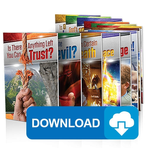 Amazing Facts Audio Bible Study Guides Introductory Set (1-14)