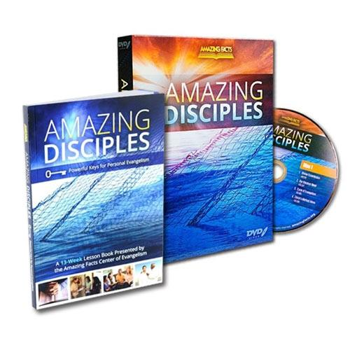 [DV-AD] Amazing Disciples DVD set by Amazing Facts