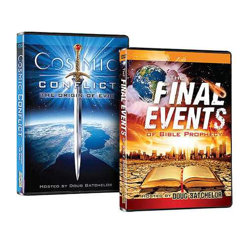 Cosmic Conflict and Final Events DVD Set by Doug Batchelor