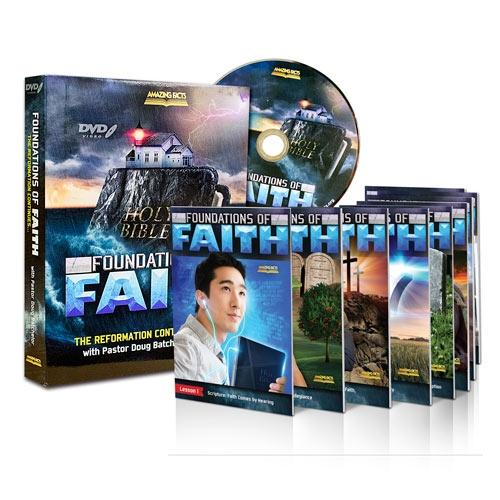 Foundations of Faith DVD Set and Lessons by Doug Batchelor