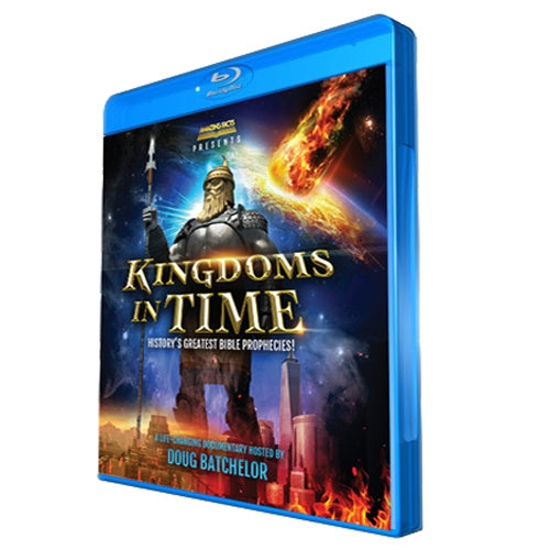 Kingdoms in Time: History's Greatest Bible Prophecies Blu-ray by Doug Batchelor