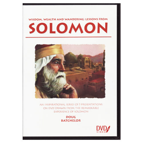 Lessons From Solomon DVD Set by Doug Batchelor
