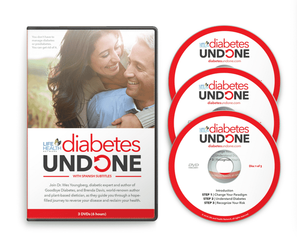 Diabetes Undone DVD Set by Life and Health