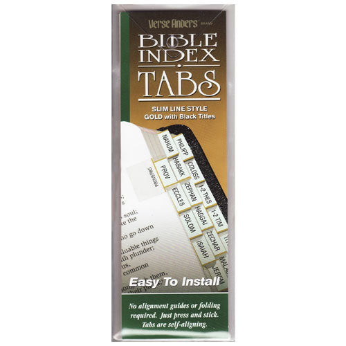 Bible Index Tab Slim Line Style by GT Luscombe