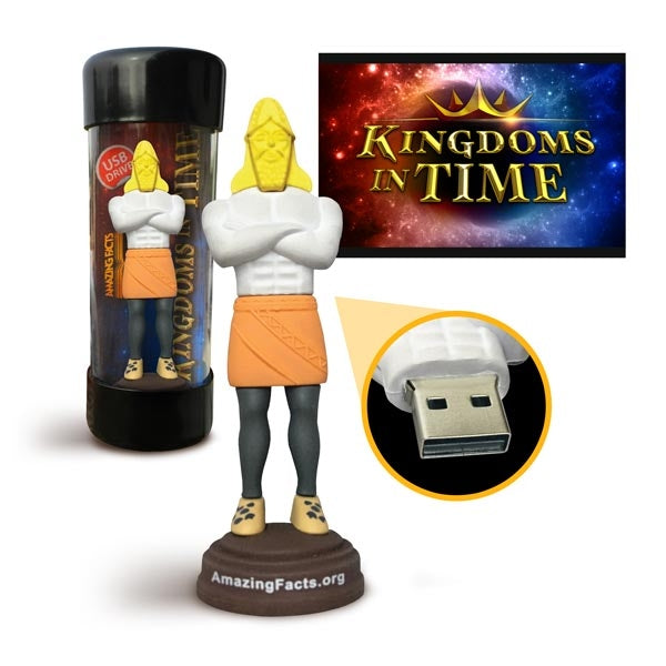 Kingdoms in Time Documentary on USB Drive by Doug Batchelor