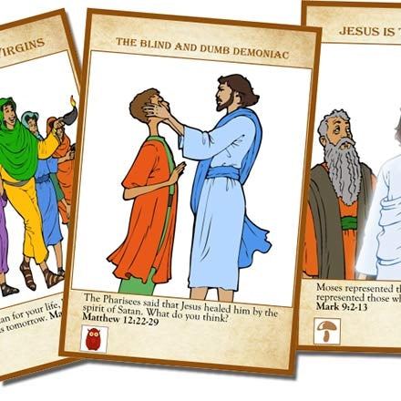 Parables & Miracles of Jesus Game Created by PKG