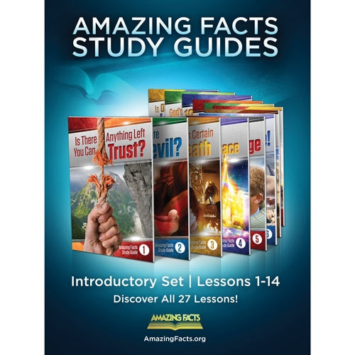 Amazing Facts Study Guides Introductory Set (1-14) by Bill May