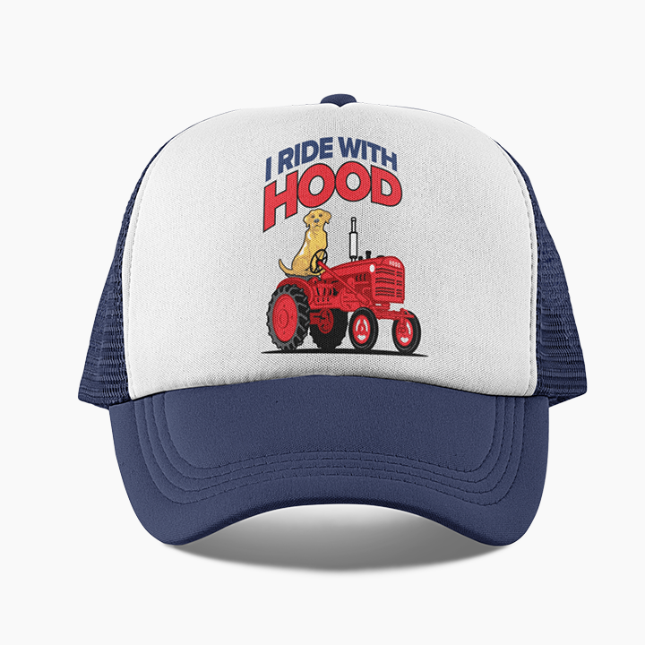 *LIMITED EDITION* I Ride With Hood Trucker Hat