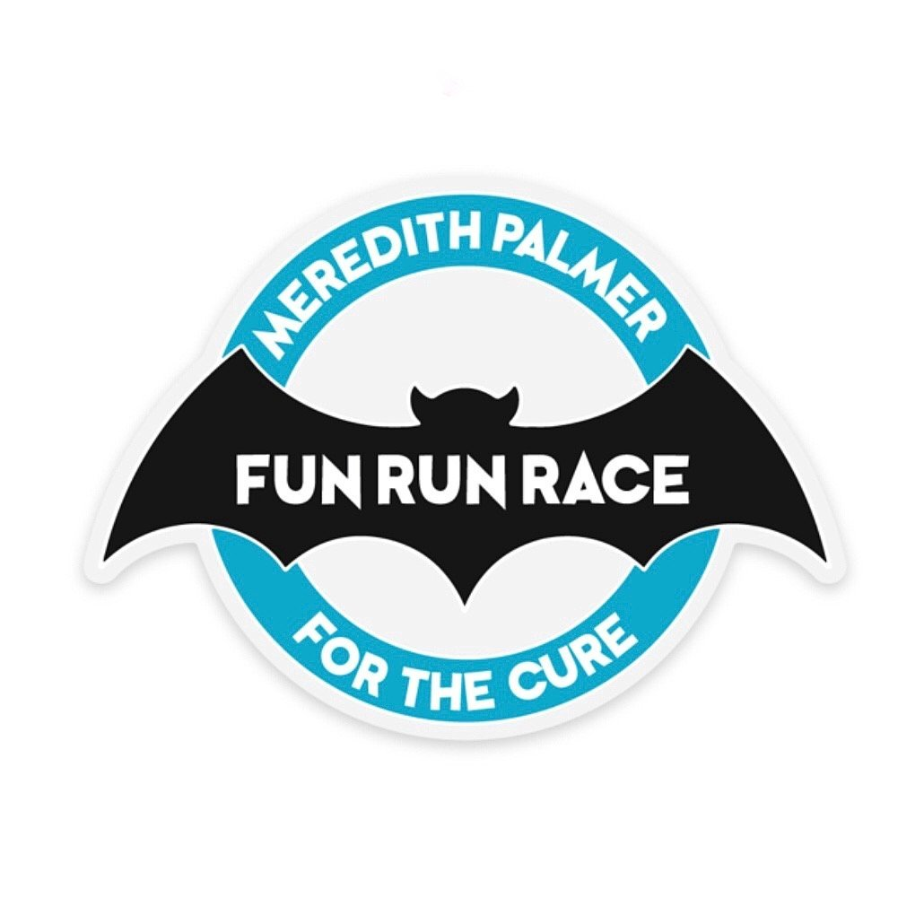 Meredith Fun Run Race Decal - Rad Girl Creations
