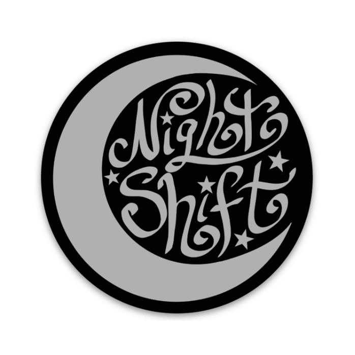 Night Shift Decal - Rad Girl Creations