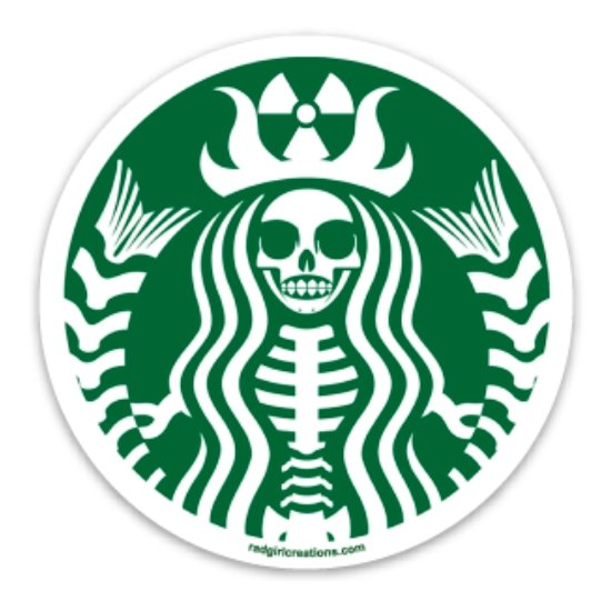 Radioactive Coffee Decal - Rad Girl Creations
