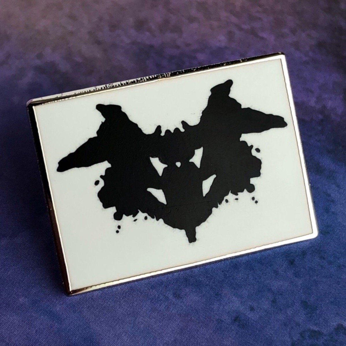 Rorschach Test: Card I Pin - Rad Girl Creations
