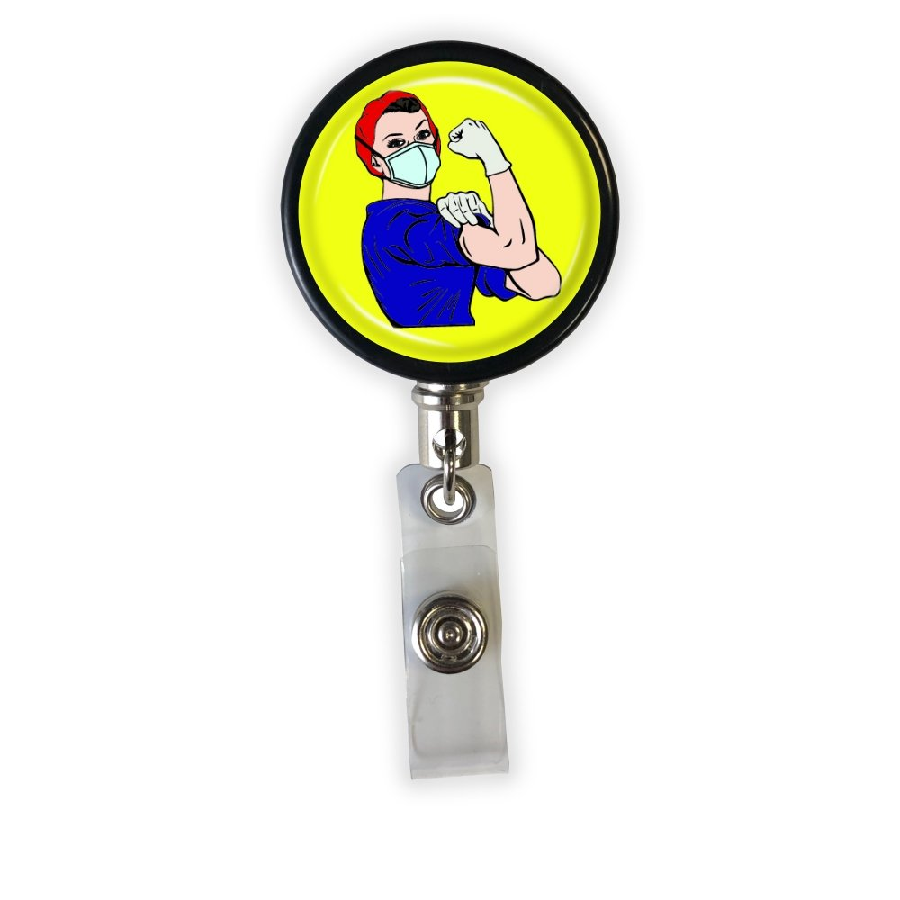 Rosie the Medical Professional Badge Reel - Classic Colors - Rad Girl Creations