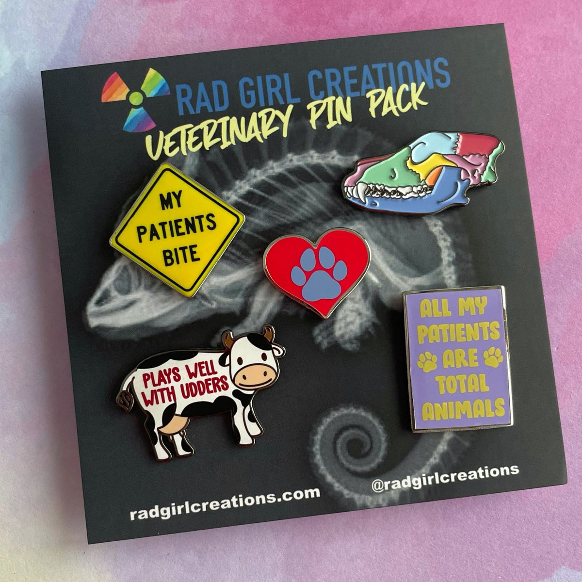 Veterinary Pin Pack - Rad Girl Creations