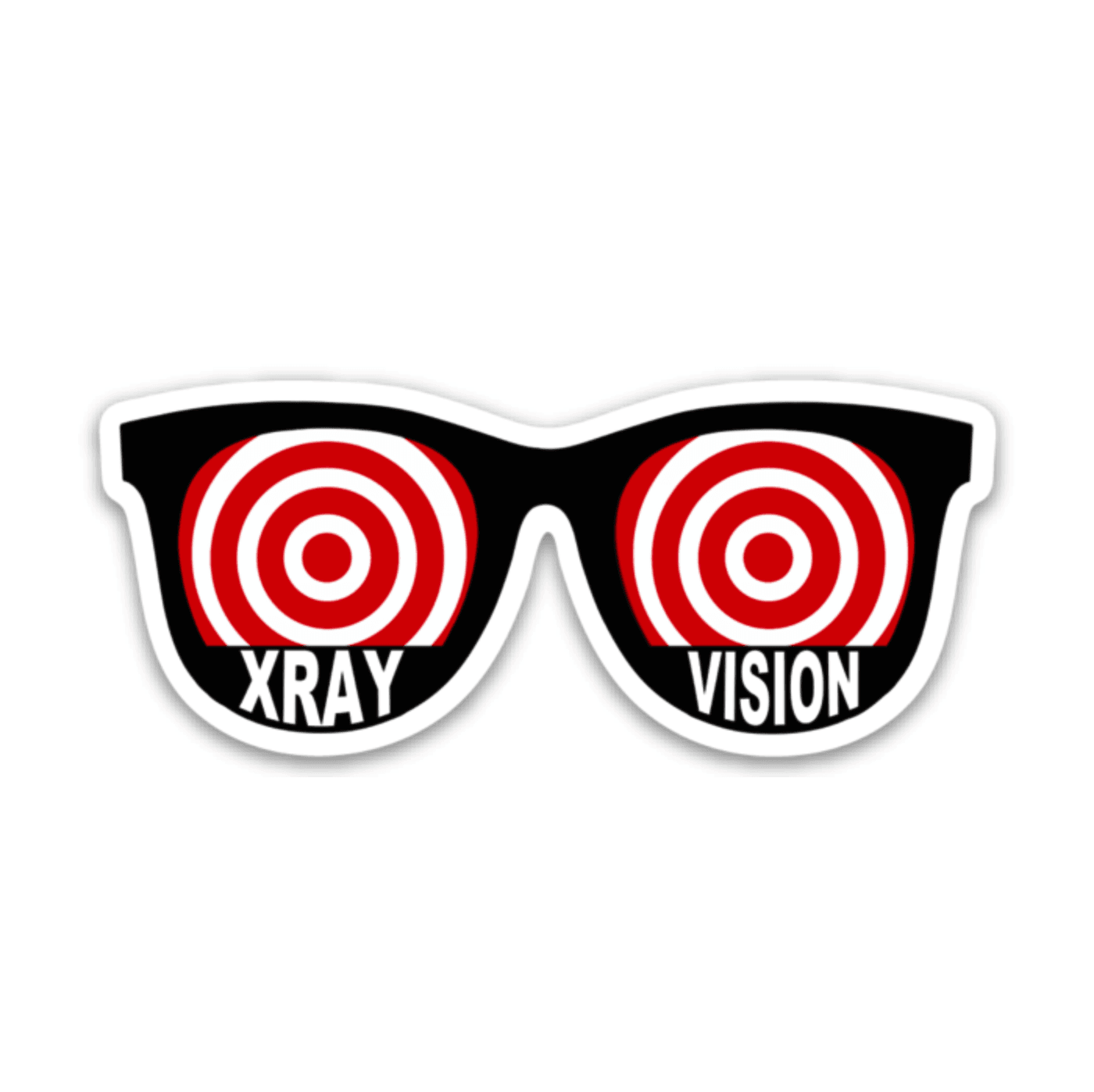 Xray Vision Glasses Decal - Rad Girl Creations