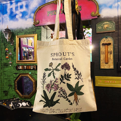Sprout's Botanical Garden Tote Bag