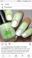 Load image into Gallery viewer, Un-frog-gettable Cuticle Cover
