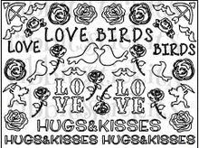 Load image into Gallery viewer, Love Birds Sticker Sheet