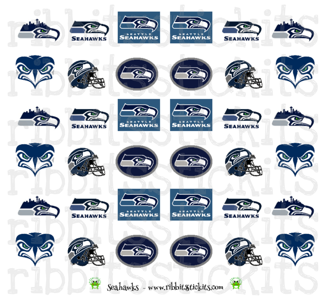 Seahawks - Limited Edition Seattle Indie Shop 2018
