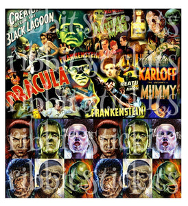 Classic Horror Movie Monsters!