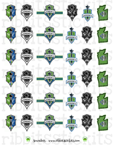 Sounders - Limited Edition Seattle Indie Shop 2018