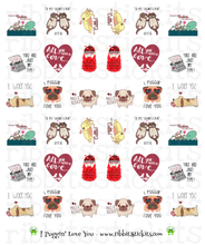 Load image into Gallery viewer, Just Love Me Up - All 6 New Vday Sheets