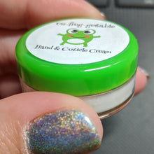 Load image into Gallery viewer, Un-frog-gettable Hand and Cuticle Cream - Individual Scent Testers