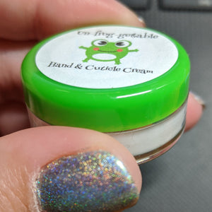 Un-frog-gettable Hand and Cuticle Cream - Individual Scent Testers