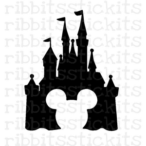 At the Castle Vinyl Sticker