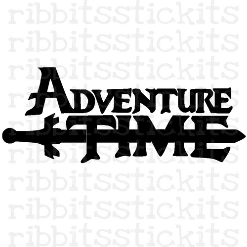 Adventure Time Vinyl Sticker