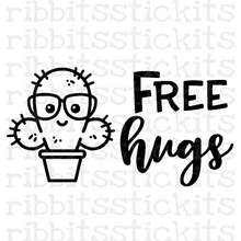 Load image into Gallery viewer, Free Hugs Vinyl Sticker