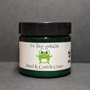 Un-frog-gettable Hand and Cuticle Cream