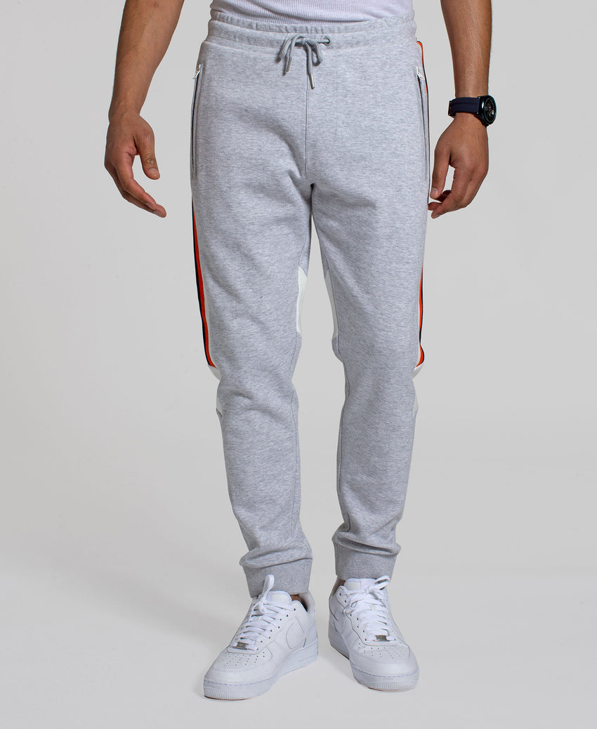Angled Color Blocked Track Pant