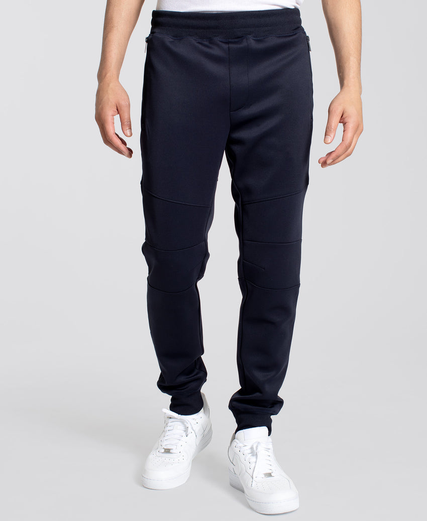 Extended Zipper Pockets Jogger