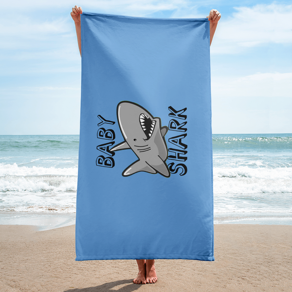 Baby Shark Beach Towel