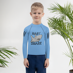 Baby Shark Kids Rash Guard