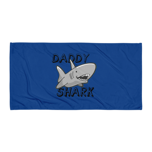 Daddy Shark Beach Towel