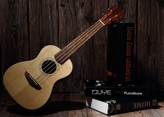 Hricane Mahogany Spruce Ukulele Youtube Review by Dylan Laine