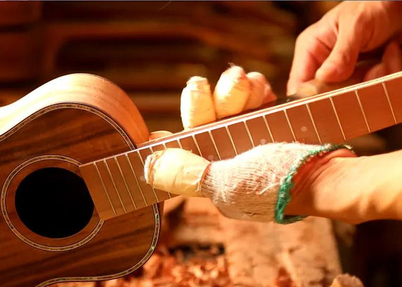 Watch The Video About How is a Hricane Brand Ukulele Made?