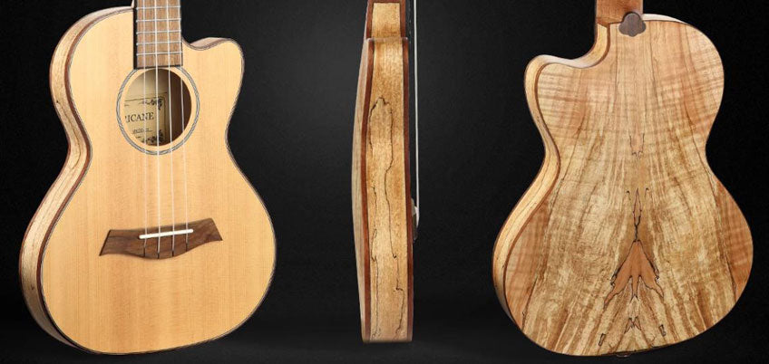 The Timbre Characteristics of Various Ukulele Woods
