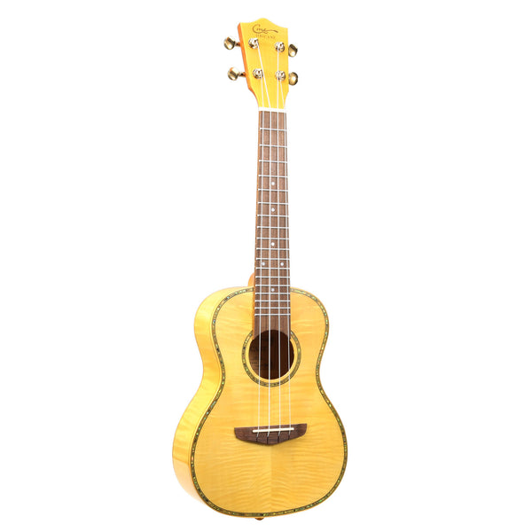 23 Inch Tiger Veins Maple Professional Concert Ukulele