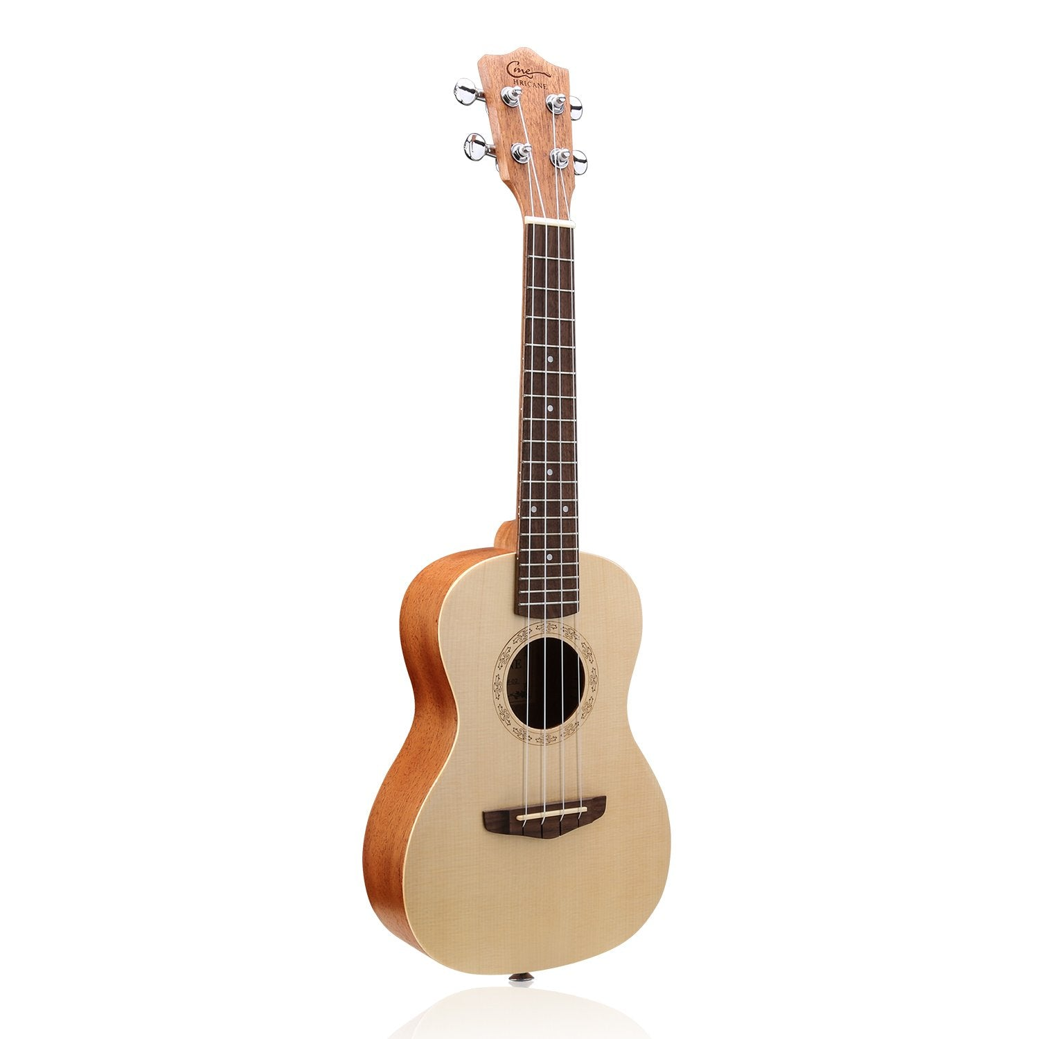26 Inch Mahogany Solid Wood Spruce Top Tenor Ukulele