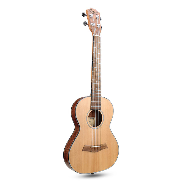 27 Inch Walnut Solid Spruce Top Ultra Thin Outdoor Travel Tenor Ukulele