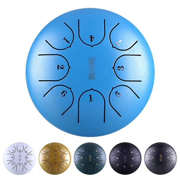 Professional Steel Tongue Drum Hand Pan Music Education G Tune C Key