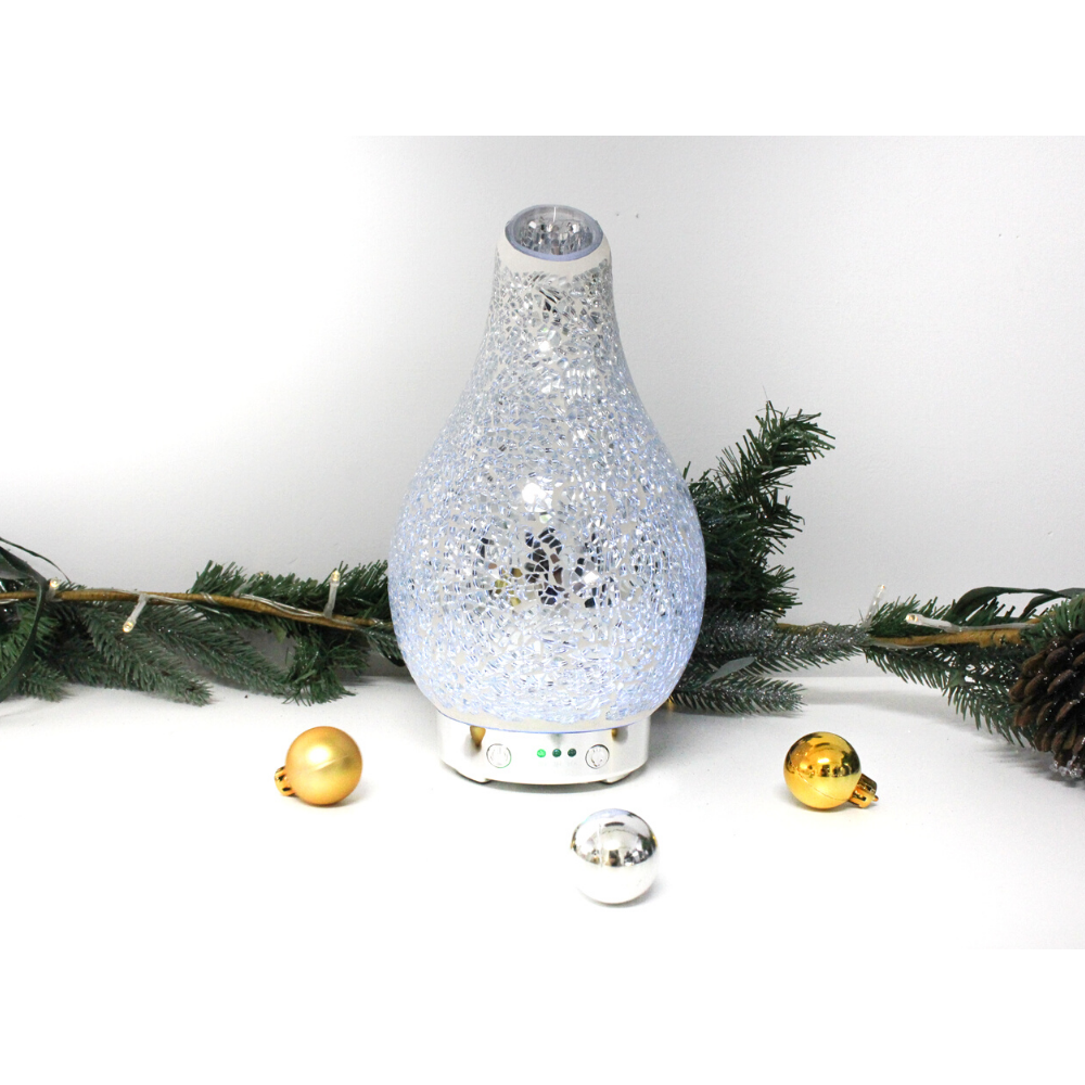 Light blue cool mist diffuser