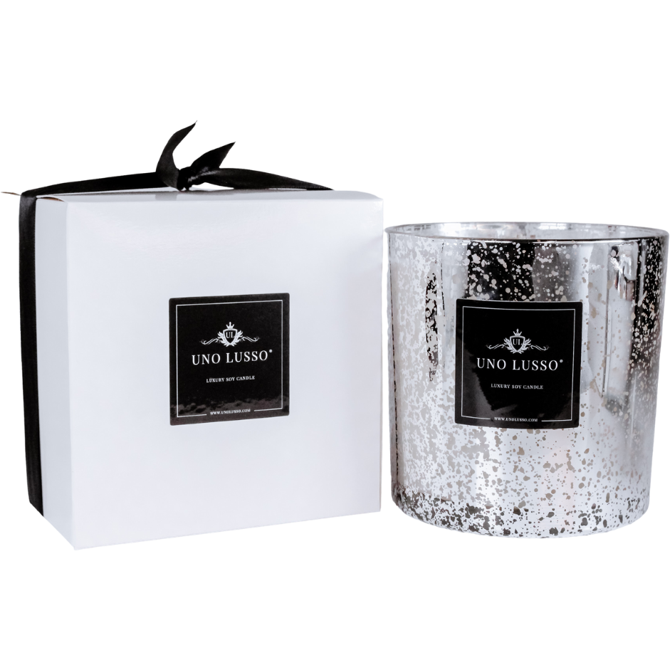 Bello Morello Silver Electroplated Candle