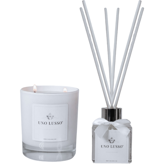 Bellissimo Gloss Candle & Diffuser Set