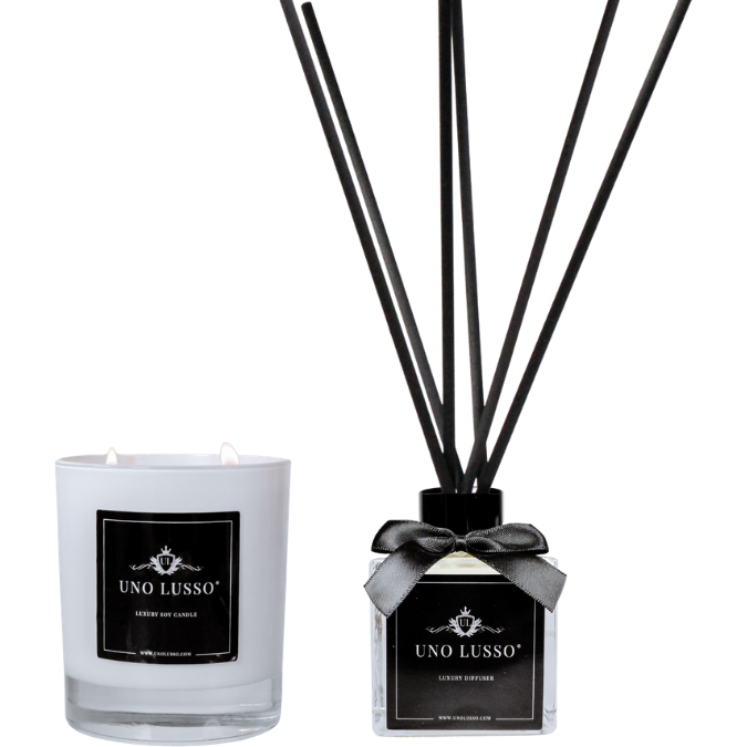 Ravello Gloss Candle & Diffuser Set