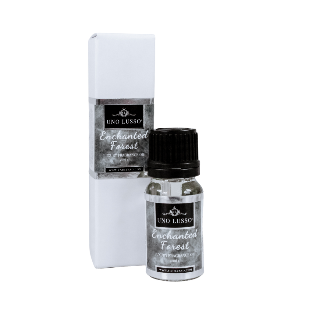 Enchanted Forest Fragrance oil for oil burners and mist diffusers by Uno Lusso